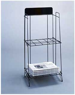 Newspaper Display Racks